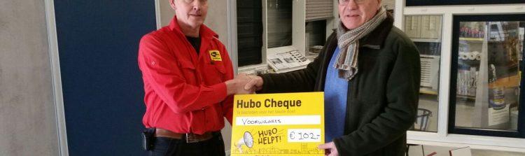 Hubo Veld sponsort Voorwaarts